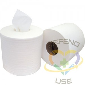 Centre-Pull Wipers, 1 Ply, 6 Rolls/Case - 1