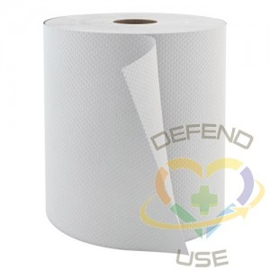 Roll Hand Towels, 1 Ply, 6 Rolls/Case