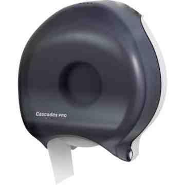 Universal Toilet Paper Dispenser Smoke/Black