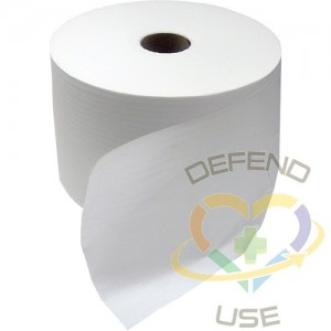 Double Re-Crepe Wipers, 1 Ply, 877/Roll