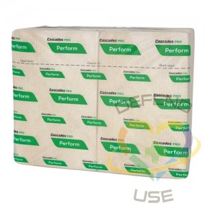 Perform® Inter-Fold Towels, 1 Ply, 16/Case