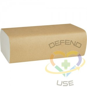 """Multifold Hand Towels, 1 Ply, 8"""" L x 9-4/9"""" W, 250 /Pack"""