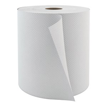Hardwound Hand Towels, 1 Ply, 6/Case