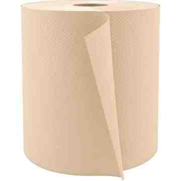 Hardwound Hand Towels, 1 Ply, 6/Cs