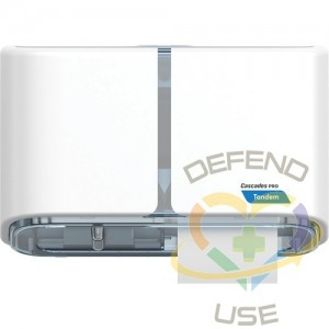 Side-by-Side High Capacity Toilet Paper Dispenser Each