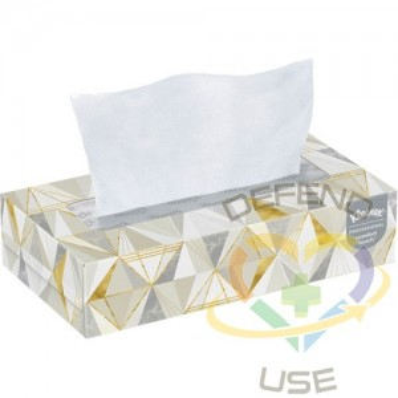 "Kleenex® Facial Tissue - Convenience Case, 2 Ply, 7.8"" L x 8.3"" W, 125 Sheets/Box 12/Cs - 1"