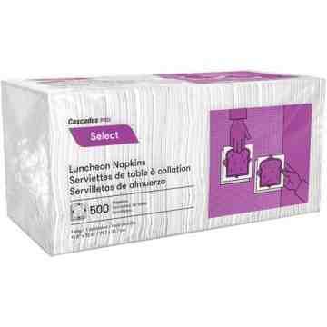 Select™ 1/4 Fold Luncheon Napkins, 500/Pk