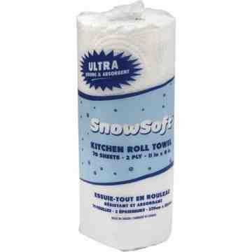 Snow Soft® Premium Kitchen Towels, 2 Ply, Case of 24 - 1