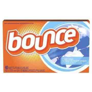 Bounce - Sheet Fabric Softener Fresh Linen, Case of 12/40ct