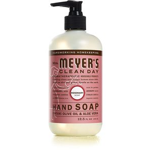 Mrs.Meyers Clean Day Pump, Hand Soap, Rosemary, Case of 6/370ml