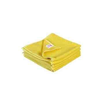 Microfibre Cloth Yellow Bulk 50/cs,SB-2010Y