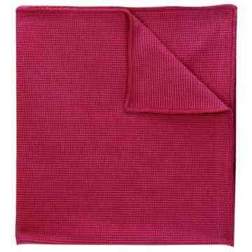 Microfibre Cloth Red Bulk 250/cs,SB-2010BR