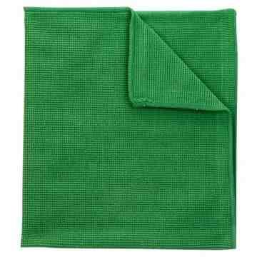 Microfibre Cloth Green Bulk 250/cs,SB-2010BG