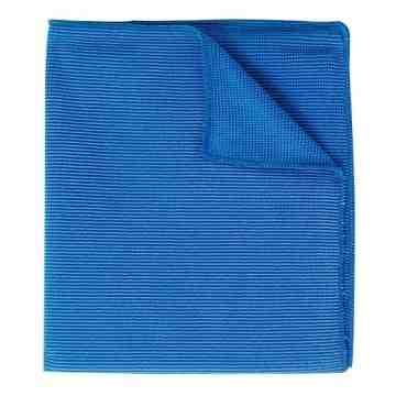 Microfibre cloth Blue Bulk 250/cs,SB-2010BB