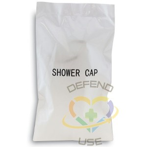Shower Cap Frosted Sachet Wrap (Case of 500) - 1
