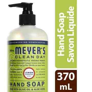 Mrs. Meyer's Clean Day Hand Soap, 370ml, Lemon Verbena, Case of 6/370ml - 1