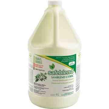 SAFEBLEND CITRIC Peppermint Oil Disinfectant Cleaner, Jug, 4 L - 1