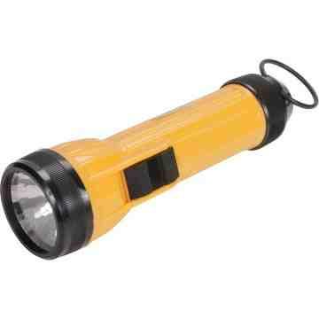 AFL100 Flashlight, LED, 35 Lumens, D Batteries - 1