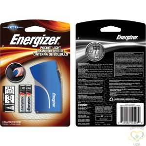 ENERGIZER  Compact Light, LED, 45 Lumens, AAA Batteries - 1
