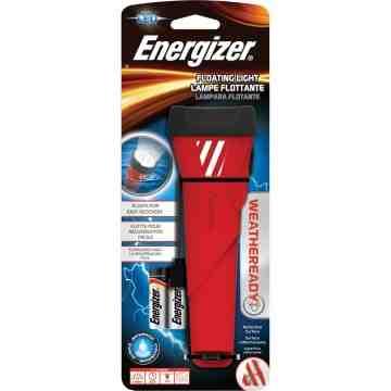 ENERGIZER  Weatheready® Floating Flashlight, LED, 55 Lumens, AA Batteries - 1