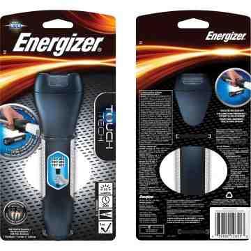ENERGIZER  Touches™ Handheld Flashlight, LED, 50 Lumens, AA Batteries - 1