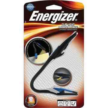 ENERGIZER  Clip Light, LED, 11 Lumens, CR2032 Batteries - 1