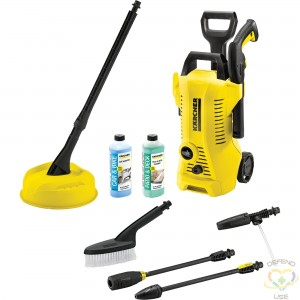 K 2 CHK High Pressure Washer with Car & Home Kit