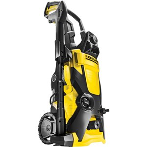 KARCHER K 4 High Pressure Washer Pump Pressure: 1900 PSI Flow Rate: 1.4 GPM Hose Length: 25' Cleaning Units: 2660