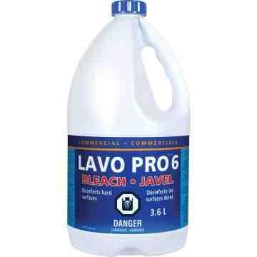 LAVO  Liquid Bleach, Jug, 3.6 L - 1