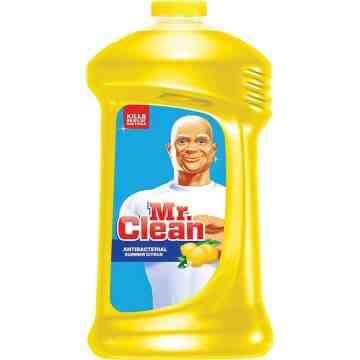 MR. CLEAN  Multi-Purpose Antibacterial Cleaner, Bottle, 828 ml Fragrance: Summer Citrus - 1