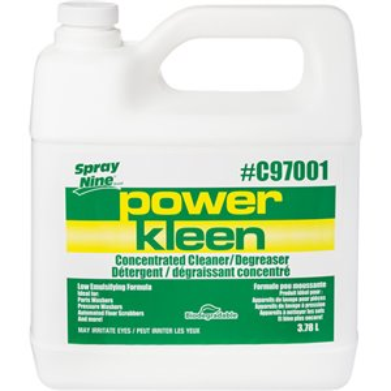 Power Kleen Parts Wash Cleaner, Jug, 4 L
