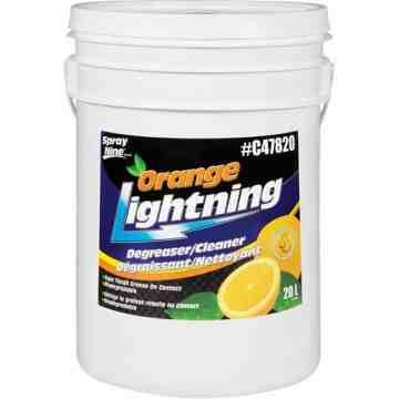 Orange Lightning Multi-Purpose Cleaner, Pail, 20 L
