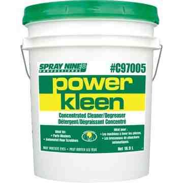 Power Kleen Parts Wash Cleaner, Pail, 20 L