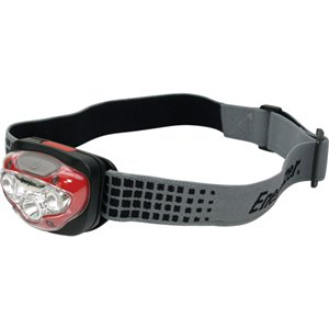 HD Vision Industrial Headlamp, LED, 300 Lumens, 4.33 Hrs. Run Time, AAA Batteries