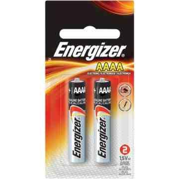 Alkaline Batteries, AAAA, 1.5 V