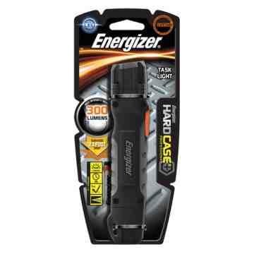 Hard Case® Task Flashlight, LED, 300 Lumens, AA Batteries Each