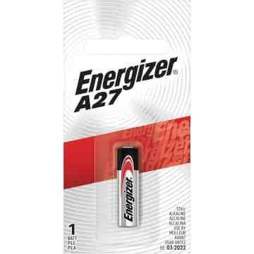 Miniature Alkaline Battery, A27, 12 V