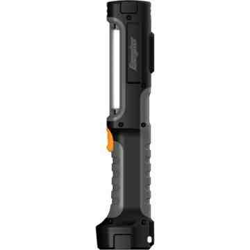 Hard Case® Rugged Work Light, LED, 550 Lumens, AA Batteries Each