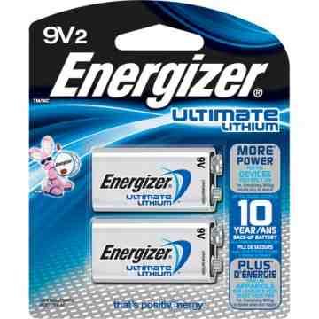 9V - Lithium Batteries