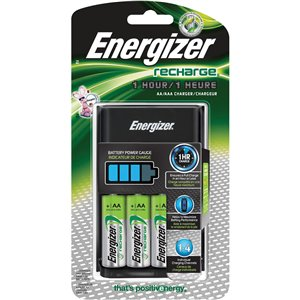 Energizer Recharge® 1-Hour Charger