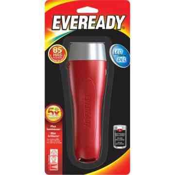 Eveready® All-Purpose Flashlight, LED, 65 Lumens, D Batteries Each