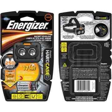 HardCase® Professional Magnet Light, LED, 250 Lumens, 3.75 Hrs. Run Time, AAA Batteries