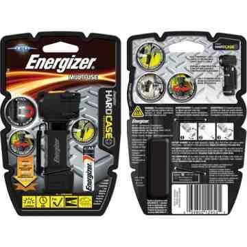Hard Case® Professional Multi-Use Light, LED, 75 Lumens, AA Batteries Each