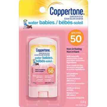 Water Babies® Sunscreen, SPF 50, 14 g, Stick