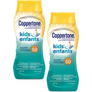 Coppertone® Kids Duo Pack, SPF 50, 2 x 237 ml, Lotion Pack of 2