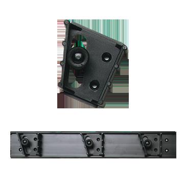 Tool Holder, Bar w/3 Standard Units Fits 1 3.16 - 1