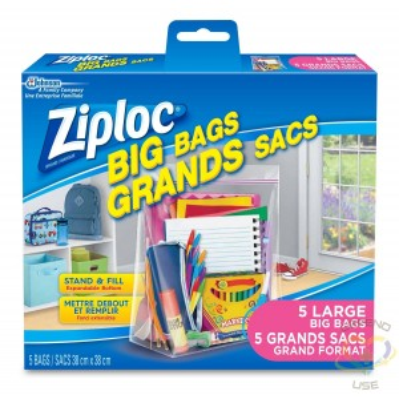 Ziploc Brand Bags - Big Bags Large - 8/5ct