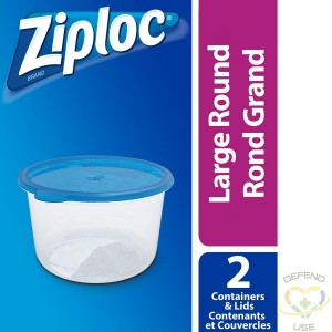 Ziploc Brand Containers - Round Large Case of 6/2ct - 2