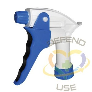 """Trigger Sprayer - Model 640 - 9 1/4"""" - Blue/White, 100 Units / Price Per EA"""