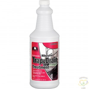 Nilozyme™ Bio-Enzymatic Trap & Drain Cleaner Container Type: Bottle Container Size: 32 fl. oz. - 1